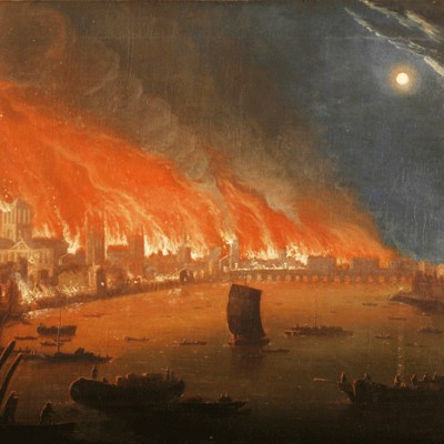 2nd September 1666: Great Fire of London starts in Pudding Lane