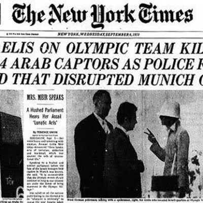 6th September 1972: Olympic athletes killed in the Munich massacre