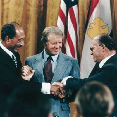 17th September 1978: Egypt & Israel sign Camp David Accords