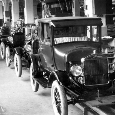 27th September 1908: First Model T Ford produced in Detroit