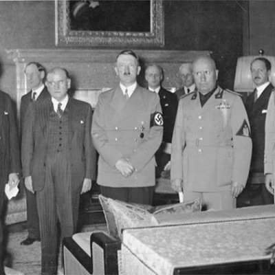 29th September 1938: Munich Conference agrees annexation of Sudetenland