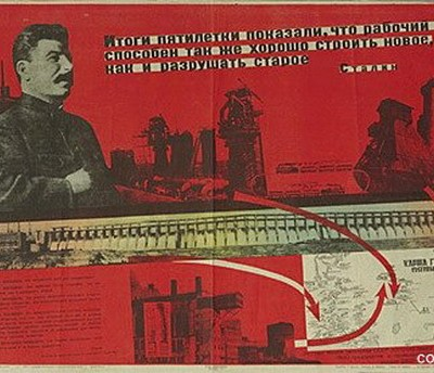 1st October 1928: USSR introduces first five-year plan