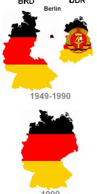 3rd October 1990: East and West Germany reunited