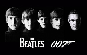 Beatles and James Bond