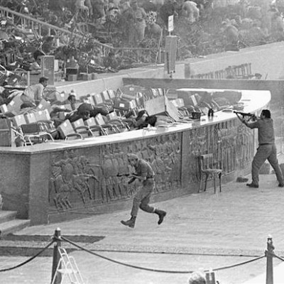6th October 1981: Egyptian President Anwar Sadat assassinated by terrorists