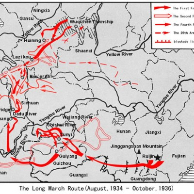 20th October 1935: Mao Zedong's Red Army finishes the Long March