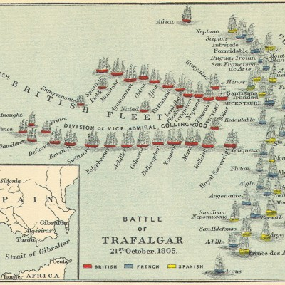 21st October 1805: Nelson wins the Battle of Trafalgar