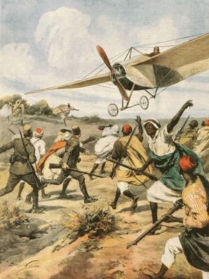 1st November 1911: First ever aerial bombing from a plane takes place during the Italo-Turkish War