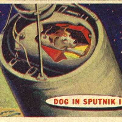 3rd November 1957: Laika the dog becomes first animal in orbit