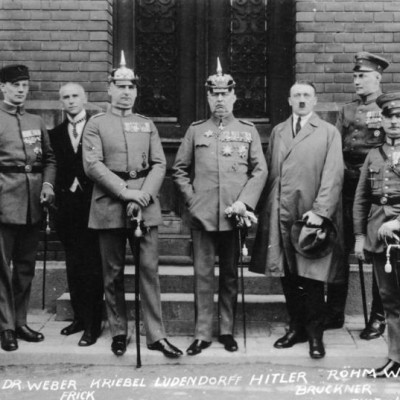 8th November 1923: The Nazis begin the Beer Hall Putsch in Munich