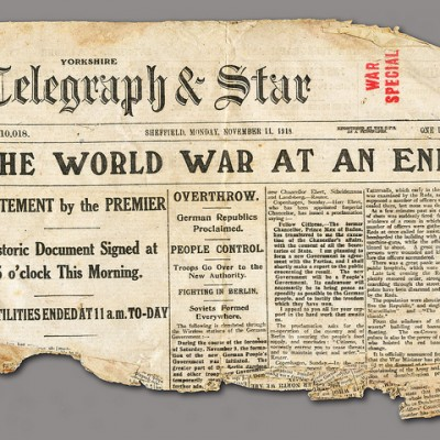 11th November 1918: WW1 Armistice of Compiègne is signed