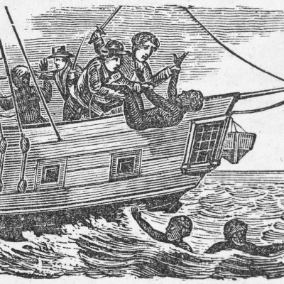 29th November 1781: Over 132 slaves thrown from the 'Zong' ship
