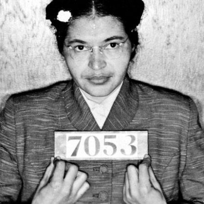 1st December 1955: Rosa Parks refuses to give up her bus seat in Montgomery, Alabama