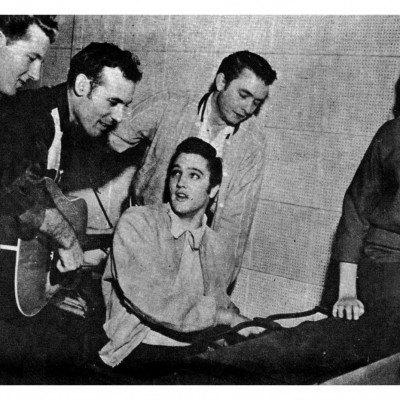 4th December 1956: Million Dollar Quartet record at Sun Studios
