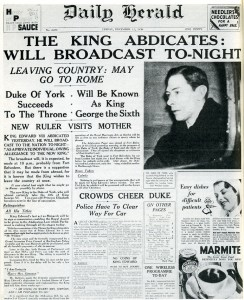 Edward VIII abdication
