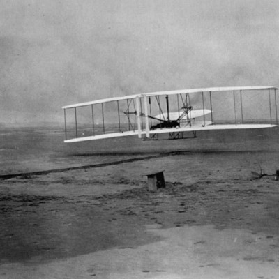 17th December 1903: Wright brothers make first aircraft flight