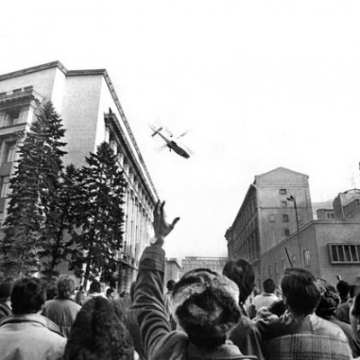 22nd December 1989: Overthrow of Nicolae Ceaușescu in Romania