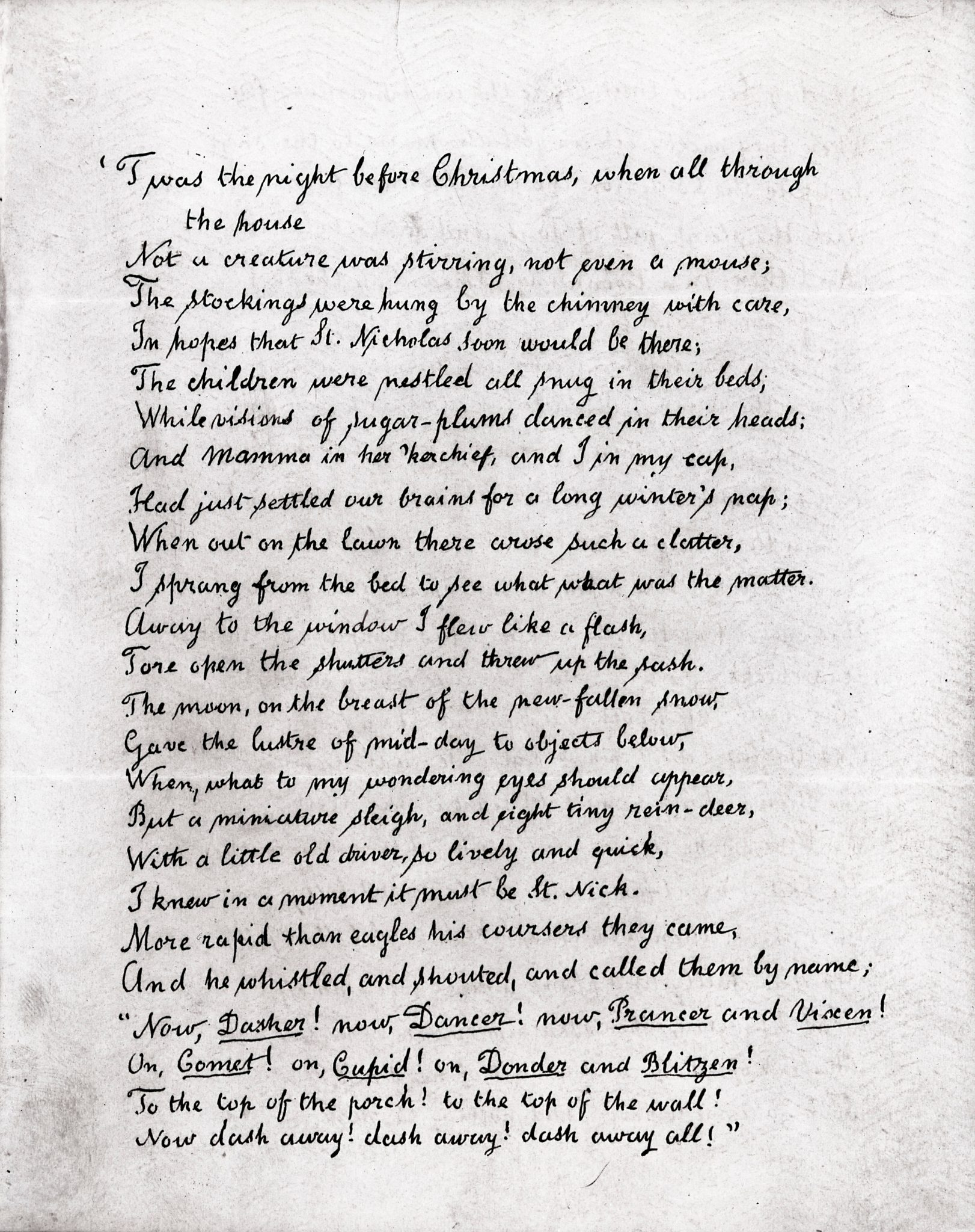 23rd December 1823: The Night Before Christmas first published | HistoryPod
