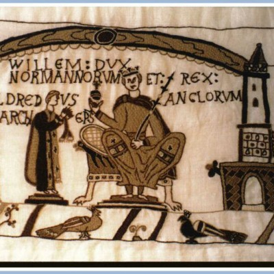 25th December 1066: William the Conquerer crowned king of England