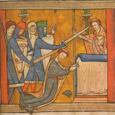 29th December 1170: Thomas Becket murdered in Canterbury Cathedral