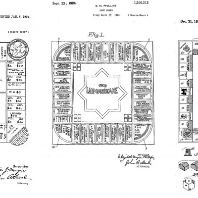 31st December 1935: Monopoly board game patented