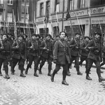 11th January 1923: French and Belgian troops occupy the Ruhr