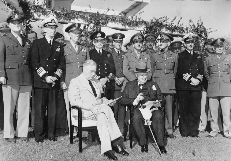 14th January 1943: Churchill and Roosevelt meet at the Casablanca Conference | HistoryPod