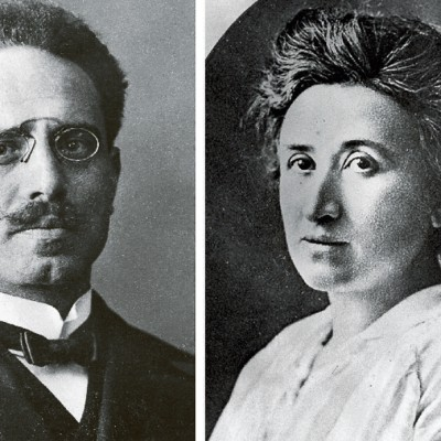 15th January 1919: Karl Liebknecht and Rosa Luxemburg killed by Freikorps
