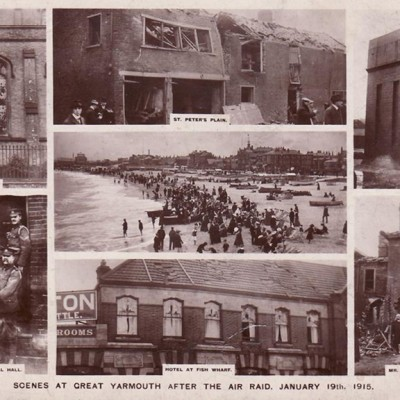 19th January 1915: Zeppelins bomb Great Yarmouth and Kings Lynn