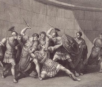 24th January 41 CE: Emperor Caligula killed by the Praetorian Guard