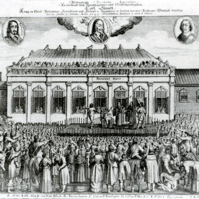 30th January 1649: Charles I beheaded at Banqueting House