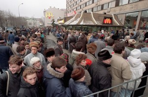 First McDonalds in the USSR
