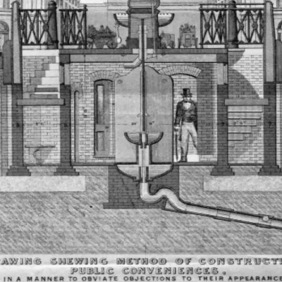 2nd February 1852: First modern public toilets open in London