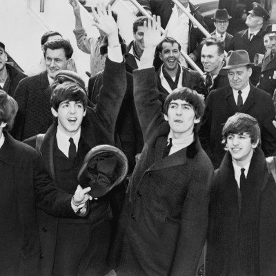 7th February 1964: The Beatles' first visit to the USA