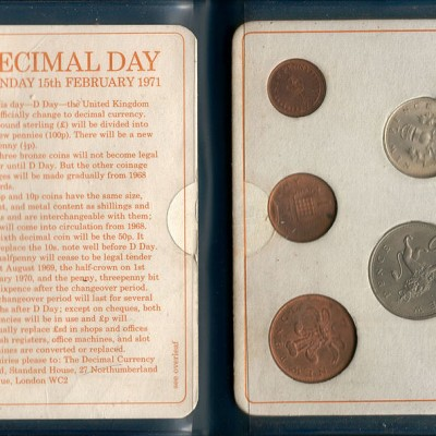 15th February 1971: The UK and Ireland decimalise their currency