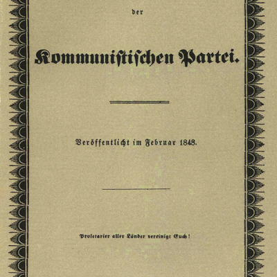 21st February 1848: The Communist Manifesto first published