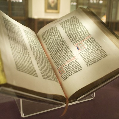 23rd February 1455: Gutenberg Bible published (traditional date)