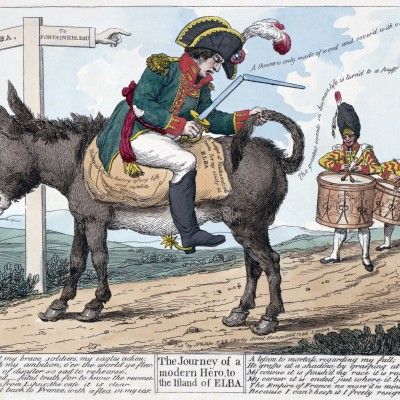 26th February 1815: Napoleon escapes from exile on Elba