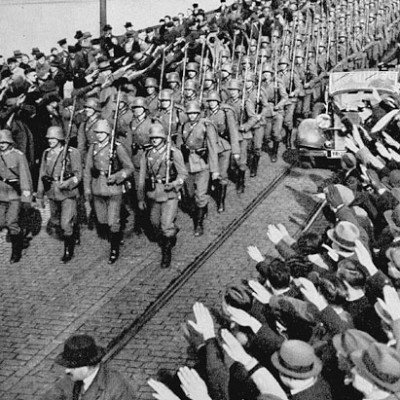 7th March 1936: Germany remilitarises the Rhineland
