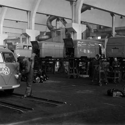 8th March 1950: VW Transporter aka 'camper' & 'bus' production begins