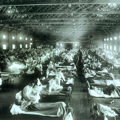 11th March 1918: First confirmed case of 'Spanish Flu'