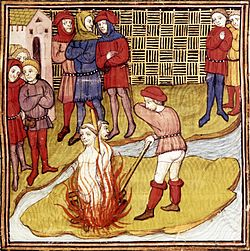 18th March 1314: Execution of last Knights Templar Grand Master
