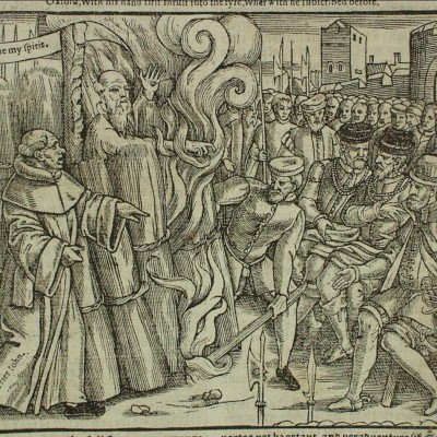 21st March 1556: Thomas Cranmer executed for heresy