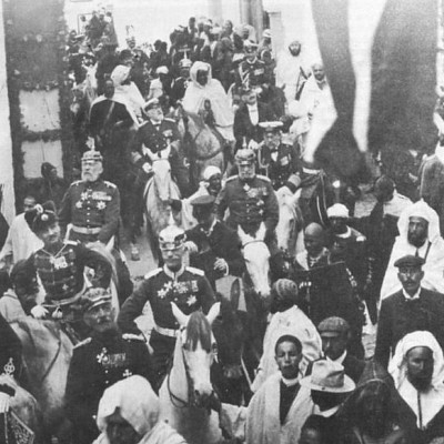 31st March 1905: Wilhelm II provokes the First Moroccan Crisis