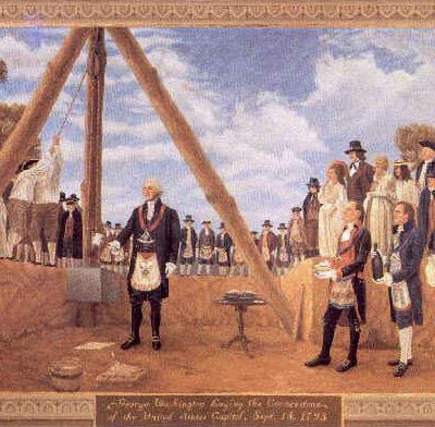 13th October 1792: Cornerstone laid for the White House