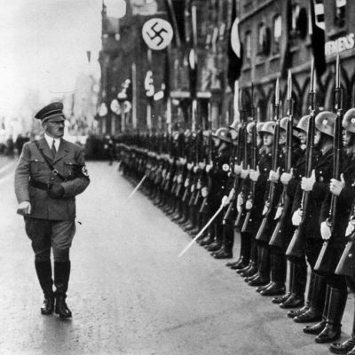 4th April 1925: Adolf Hitler orders the establishment of the SS