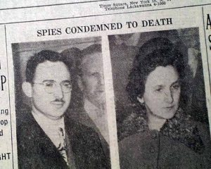 Rosenbergs sentenced to death