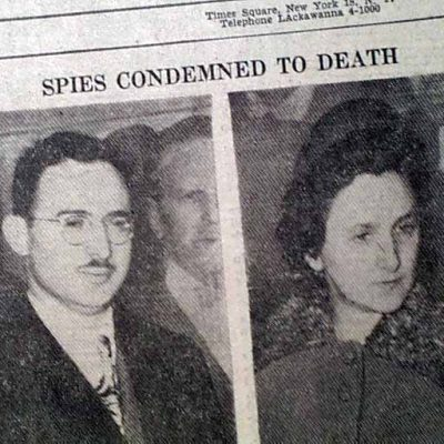 5th April 1951: Julius and Ethel Rosenberg sentenced to death for spying
