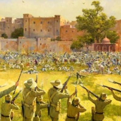 13th April 1919: British troops commit the Amritsar Massacre