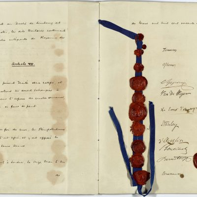 19th April 1839: The Treaty of London establishes an independent Belgium